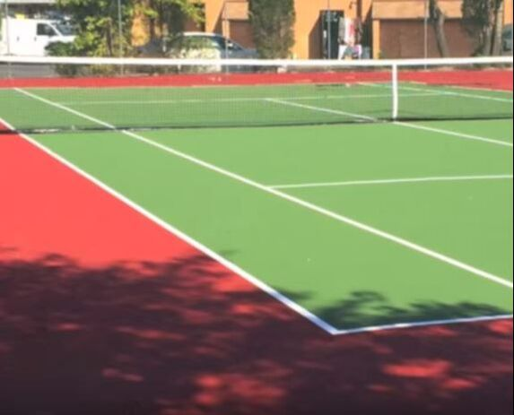 Asphalt Tennis Court New Hampshire Paving Pros Manchester NH